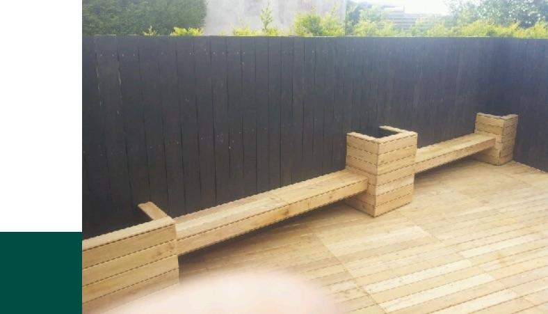 Terrasse en chataîgner, un bois résistant, clair et lumineux