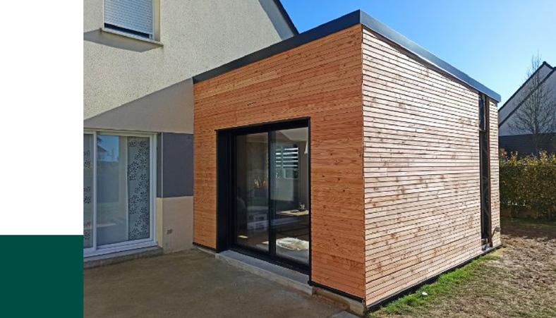 Agrandissement de maison en bois Boidsellys
