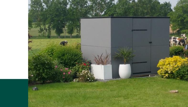L'abri de jardin, une solution de rangement simple et robuste