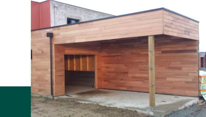 Nous construisons votre carport sur mesure en fonction de vos besoins et contraintes