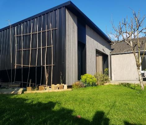 Extension en bois pour un confort optimal